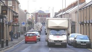 Neath Road, Hafod in Swansea