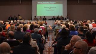 Crowd in Radisson Conference centre