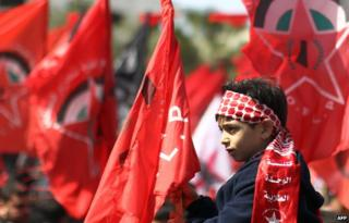 PFLP supporters