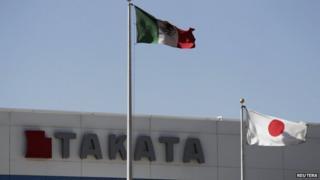 Takata plant, Mexico
