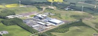 Designs for the plant at Bilsthorpe