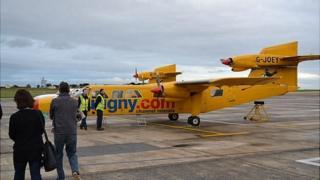 A Trislander aircraft