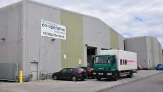 Channel Islands Co-operative Society warehouse
