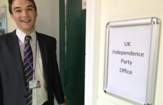 Robin Hunter-Clarke, UKIP Councillor