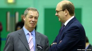 Nigel Farage and Mark Reckless
