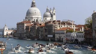 Grand Canal, Venice, 27 Sep 2014