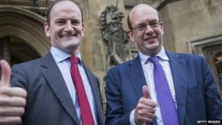 Douglas Carswell and Mark Reckless are the first two UKIP MPs