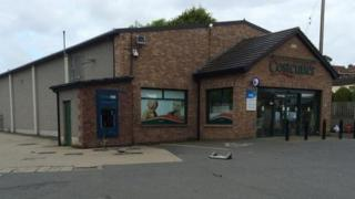The ATM at Hamiltonsbawn