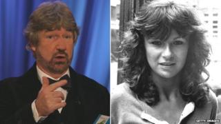 Willy Russell and Julie Walters, pictured in 2003 and 1980 respectively
