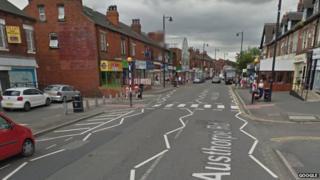 Austhorpe Road in Leeds