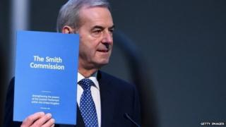 Lord Smith delivers his report