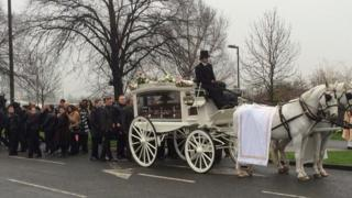 funeral for Arpad Kore
