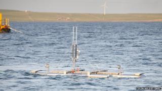 Magallanes floating turbine prototype