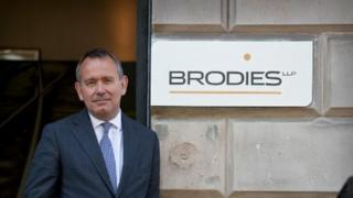 Brodies managing partner Bill Drummond