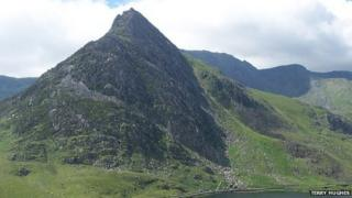A Northface view of Tryfan