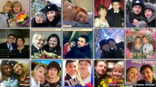 A selection of images from the selfie photo gallery