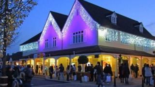 Bicester Village at Christmas (from 2011)