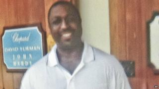 Undated photo of Eric Garner.