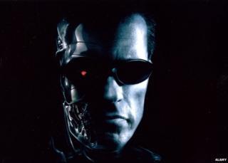 Arnold Schwarzenegger in Terminator 2