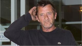 Phil Rudd at District Court in Tauranga, New Zealand (4 Dec 2014)