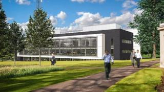 Artists impression of new headquarters