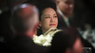 China's First Lady Peng Liyuan attends a luncheon in Auckland, New Zealand on 21 November, 2014