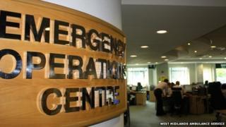Brierley Hill ambulance service call centre