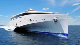 Condor 102 new vessel