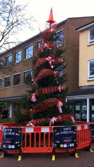 Summertown Christmas tree