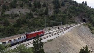 Railway line at Strpci, Bosnia - file pic