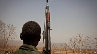 SPLM-N fighter