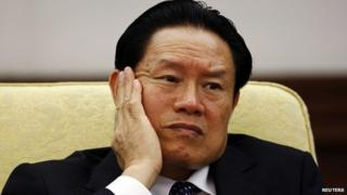 Former Public Security Minister Zhou Yongkang (File pic from 2007)