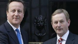 David Cameron and Enda Kenny