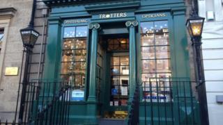 Trotters in George Street, Edinburgh
