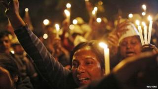 Many have been protesting against the latest rape allegation in Delhi