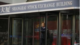 The Shanghai stock exchange on Monday crossed the 3,000 mark for the first time since 2011
