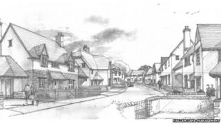 Sketches of the development