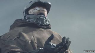Screenshot from Halo Channel