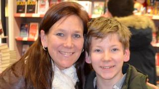 Jody Merelle and her son Cameron