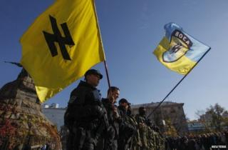 Azov battalion volunteers (file pic)
