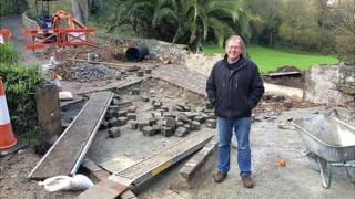 Ford being built in St Pierre du Bois by National Trust of Guernsey