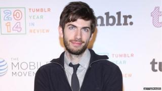 David Karp founder of Tumblr
