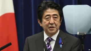 Mr Abe has promised to revive Japan's economy