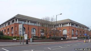 Civic Centre in Bridge Street, Reading