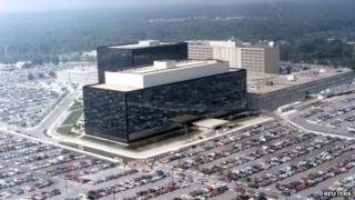 NSA building in Fort Meade