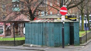 Whiteladies Road urinals