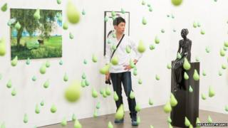 Art on display at Art Basel