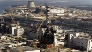 Chernobyl nuclear plant
