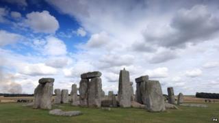 Stonehenge in Wiltshire