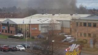 Hinckley explosion